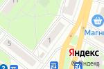 Схема проезда до компании Шок в Нижнем Новгороде