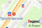 Схема проезда до компании Мир рыболова в Нижнем Новгороде