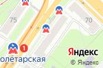 Схема проезда до компании EVA в Нижнем Новгороде