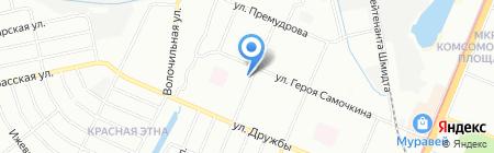 Детская музыкальная школа №5 на карте Нижнего Новгорода