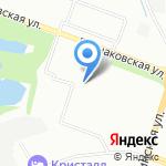 Красотка на карте Нижнего Новгорода