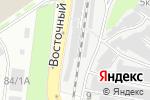 Схема проезда до компании PERK в Нижнем Новгороде