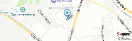 Рускомплектпоставка на карте Нижнего Новгорода