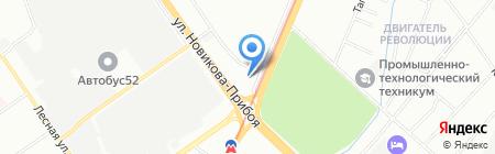 Эстет на карте Нижнего Новгорода