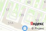 Схема проезда до компании Чип Ключ в Нижнем Новгороде