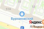 Схема проезда до компании КЕНГА в Нижнем Новгороде