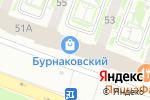 Схема проезда до компании ДомТекс в Нижнем Новгороде