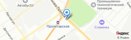 Детская школа искусств №14 на карте Нижнего Новгорода