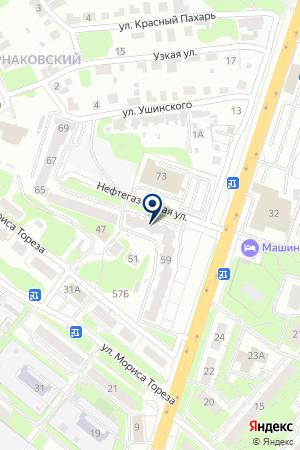 ДОМОУПРАВЛЯЮЩАЯ КОМПАНИЯ на карте Нижнего Новгорода
