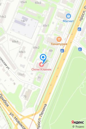 Дом 69 корп.1 по просп. Ленина, ЖК Дубки на Яндекс.Картах