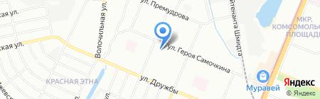 Спецтехника на карте Нижнего Новгорода