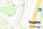 Схема проезда до компании Рыжик в Нижнем Новгороде