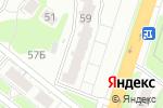Схема проезда до компании X-project в Нижнем Новгороде