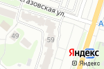 Схема проезда до компании Домашняя Япония в Нижнем Новгороде