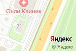 Схема проезда до компании Автомир в Нижнем Новгороде