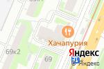 Схема проезда до компании Time52 в Нижнем Новгороде