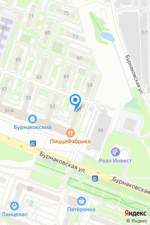 ЖК Бурнаковский, Бурнаковская ул., 51 на Яндекс.Картах