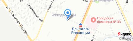 Z1 на карте Нижнего Новгорода