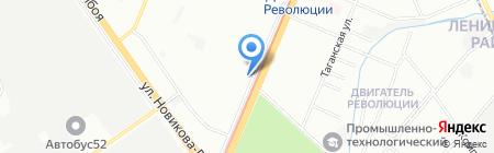 ТСЖ №132 на карте Нижнего Новгорода