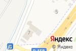 Схема проезда до компании Белая ночь в Кусаковке
