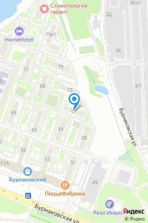 ЖК Бурнаковский, Бурнаковская ул., 67 на Яндекс.Картах