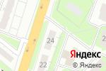Схема проезда до компании Новый гастроном в Нижнем Новгороде