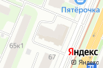 Схема проезда до компании РусГаз в Нижнем Новгороде