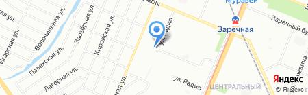 Seven на карте Нижнего Новгорода