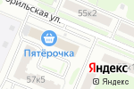 Схема проезда до компании PowerStyle в Нижнем Новгороде