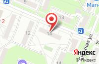 Схема проезда до компании Межрегионснаб Нн в Нижнем Новгороде