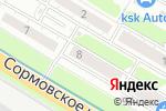 Схема проезда до компании Маска в Нижнем Новгороде