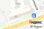 Схема проезда до компании Дебют НН в Нижнем Новгороде