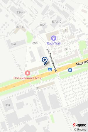 ТЕЛЕКОММУНИКАЦИОННАЯ ФИРМА ТЕЛСИ на карте Нижнего Новгорода