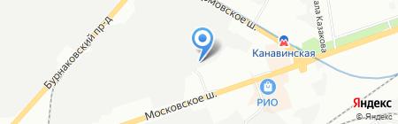ПЭК на карте Нижнего Новгорода