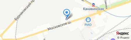 Калейдоскоп на карте Нижнего Новгорода