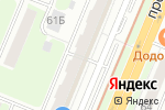 Схема проезда до компании Дивизион в Нижнем Новгороде