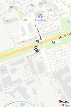 НИЖЕГОРОДСКОЕ ПАССАЖИРСКОЕ АТП № 1 на карте Нижнего Новгорода