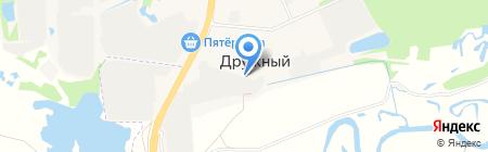 Тари на карте Ближнего Борисово
