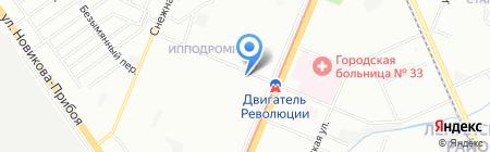 Лето на карте Нижнего Новгорода