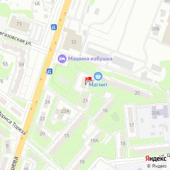 г. Нижний Новгород, ул. Шаляпина,24 на карта