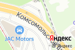 Схема проезда до компании Металлист в Нижнем Новгороде