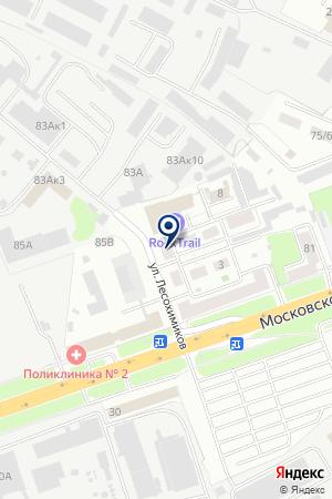ПТФ ПРОМАВТО на карте Нижнего Новгорода