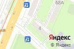 Схема проезда до компании Фрэш-букет-нн в Нижнем Новгороде