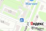 Схема проезда до компании Сабрина в Нижнем Новгороде