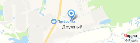 Детский сад №49 на карте Ближнего Борисово