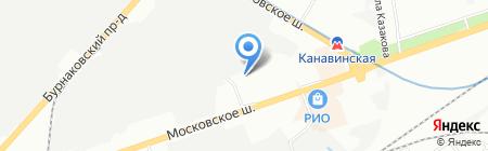АНТАРЕС на карте Нижнего Новгорода