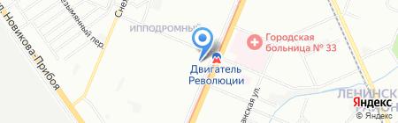 Добрыня на карте Нижнего Новгорода
