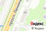 Схема проезда до компании Крепость в Нижнем Новгороде
