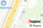 Схема проезда до компании X-Line в Нижнем Новгороде