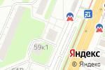 Схема проезда до компании Трусишка в Нижнем Новгороде